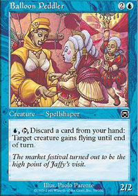 Balloon Peddler - Mercadian Masques