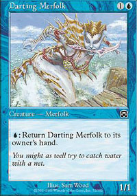 Darting Merfolk - Mercadian Masques