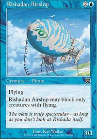 Rishadan Airship - Mercadian Masques