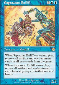 Saprazzan Bailiff - Mercadian Masques