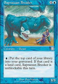 Saprazzan Breaker - Mercadian Masques
