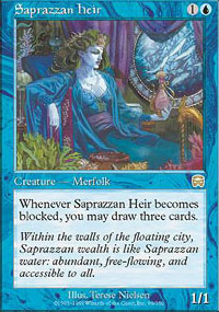 Saprazzan Heir - Mercadian Masques