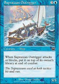 Saprazzan Outrigger - Mercadian Masques