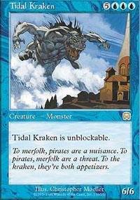 Tidal Kraken - Mercadian Masques