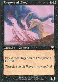 Deepwood Ghoul - Mercadian Masques