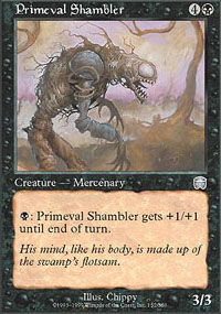 Primeval Shambler - Mercadian Masques