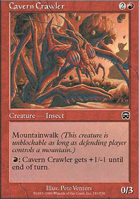 Cavern Crawler - Mercadian Masques