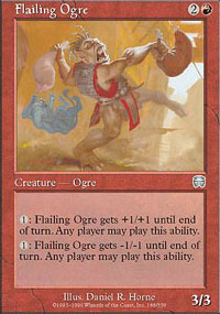 Flailing Ogre - Mercadian Masques