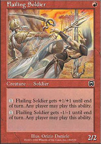 Flailing Soldier - Mercadian Masques