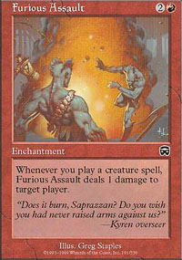 Furious Assault - Mercadian Masques