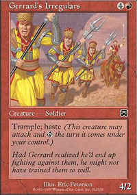 Gerrard's Irregulars - Mercadian Masques