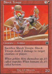 Shock Troops - Mercadian Masques