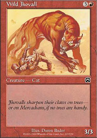 Wild Jhovall - Mercadian Masques