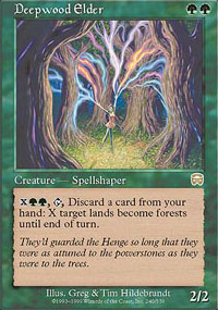 Deepwood Elder - Mercadian Masques