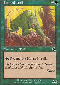 Horned Troll - Mercadian Masques