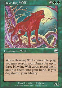 Howling Wolf - Mercadian Masques