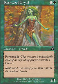 Rushwood Dryad - Mercadian Masques