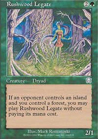Rushwood Legate - Mercadian Masques