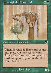 Silverglade Elemental - Mercadian Masques