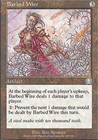 Barbed Wire - Mercadian Masques