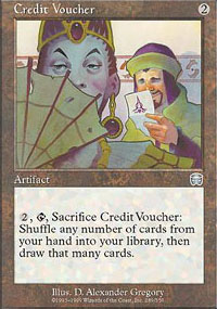 Credit Voucher - Mercadian Masques