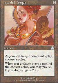 Jeweled Torque - Mercadian Masques