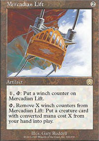 Mercadian Lift - Mercadian Masques