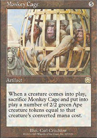Monkey Cage - Mercadian Masques