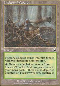Hickory Woodlot - Mercadian Masques