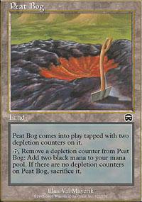 Peat Bog - Mercadian Masques