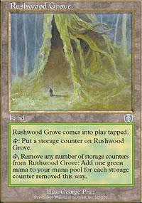 Rushwood Grove - Mercadian Masques