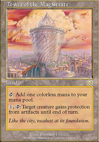 Tower of the Magistrate - Mercadian Masques