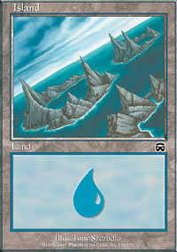 Island 4 - Mercadian Masques