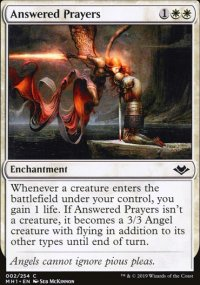 Answered Prayers - Modern Horizons