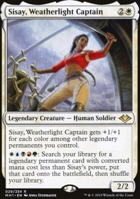 Sisay, Weatherlight Captain - Modern Horizons