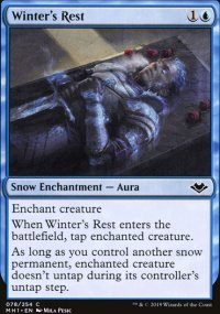 Winter's Rest - Modern Horizons