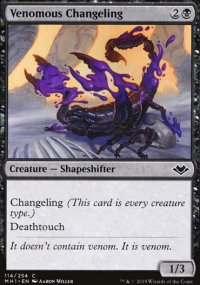 Venomous Changeling - Modern Horizons