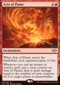 Aria of Flame - Modern Horizons