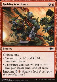 Goblin War Party - Modern Horizons