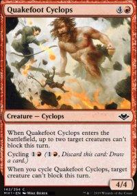 Quakefoot Cyclops - Modern Horizons