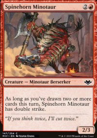 Spinehorn Minotaur - Modern Horizons