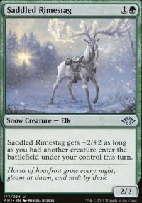 Saddled Rimestag - Modern Horizons
