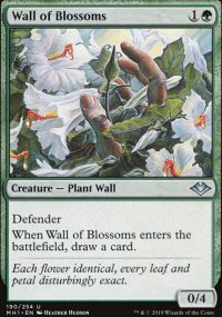 Wall of Blossoms - Modern Horizons