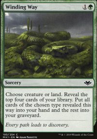 Winding Way - Modern Horizons