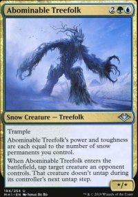 Abominable Treefolk - Modern Horizons