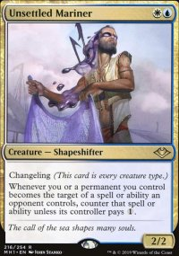 Magic the Gathering MTG Modern Horizons Unsettled Mariner 216//254