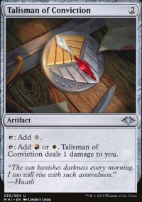 Talisman of Conviction - Modern Horizons