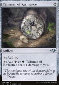 Talisman of Resilience - Modern Horizons