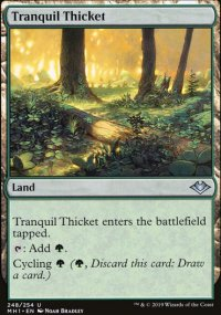 Tranquil Thicket - Modern Horizons