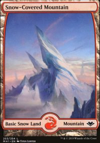 Snow-Covered Mountain - Modern Horizons